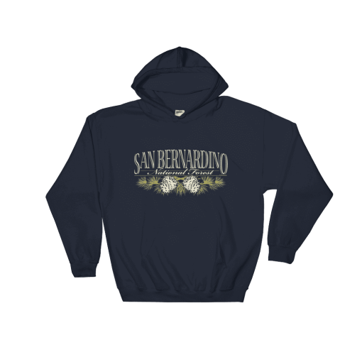 The Original San Bernardino National Forest Hooded Sweatshirt