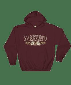 The Original San Bernardino National Forest Hooded Sweatshirt