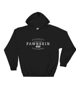 Authentic Fawnskin Hooded Sweatshirt