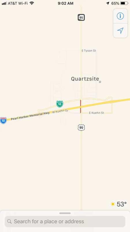 Quartzsite