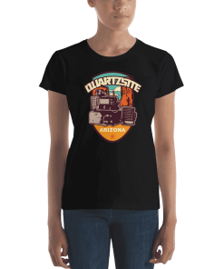 RV Destination Quartzsite Ham Radio T-Shirt
