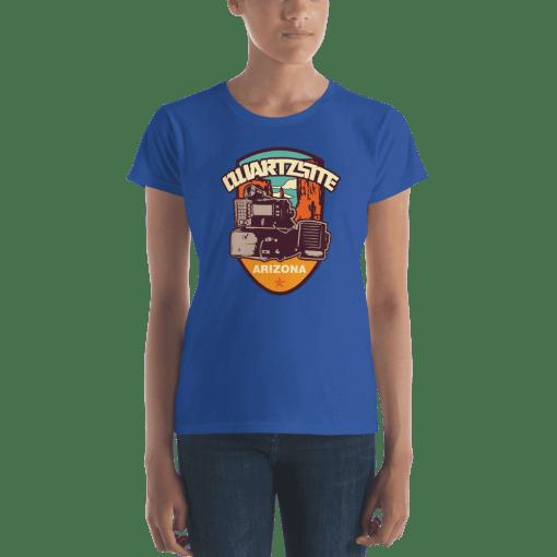 RV Destination Quartzsite Ham Radio T-Shirt