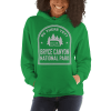 RV There Yet? Bryce Canyon National Park Hooded Sweatshirt (Unisex) Irish Green