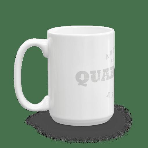 Authentic Quartzsite Camp Mug 15oz Handle Left
