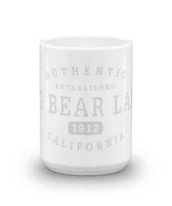 Authentic Big Bear Lake Camp Mug 15oz End