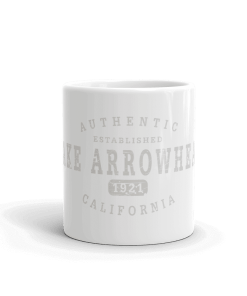 Authentic Lake Arrowhead Camp Mug 11oz End