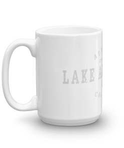 Authentic Lake Arrowhead Camp Mug 15oz Handle Left