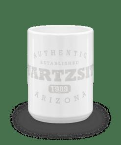 Authentic Quartzsite Camp Mug 15oz End