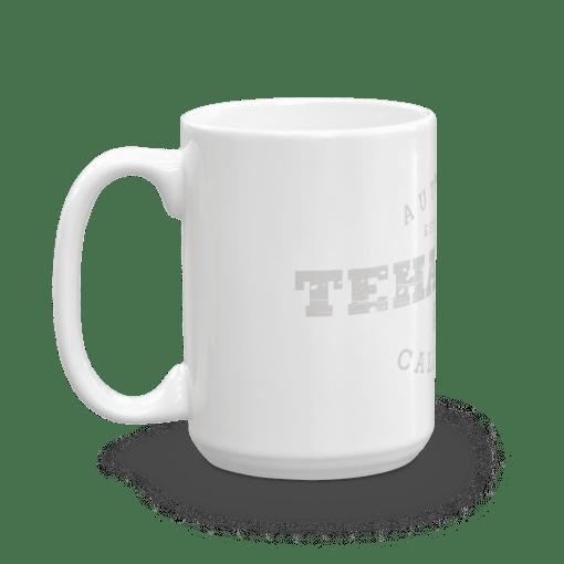 Authentic Tehachapi Camp Mug 15oz Handle Left