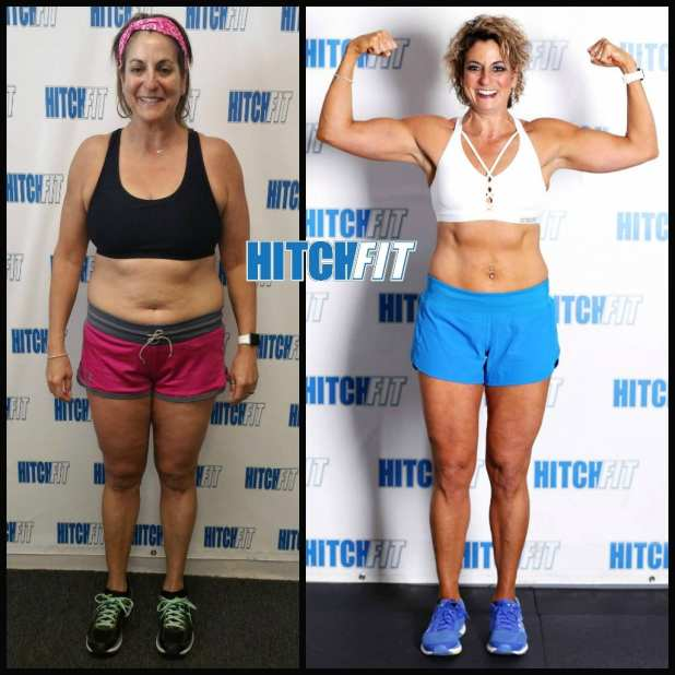 fit over 40 before and after
