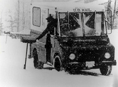 mail carrier photo