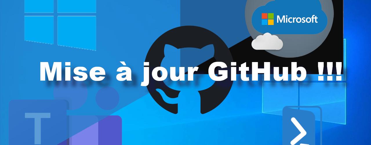MAJ GitHub
