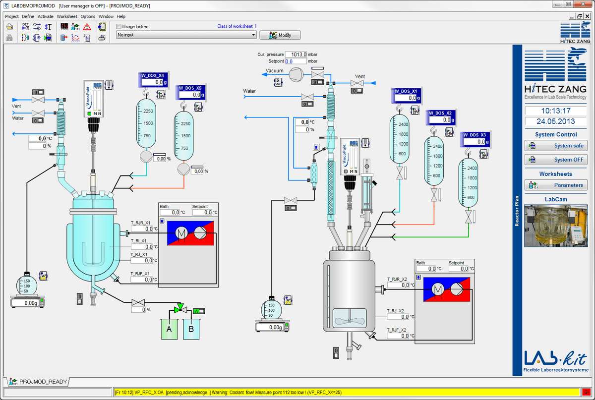 Labvision Process Visualisation Software