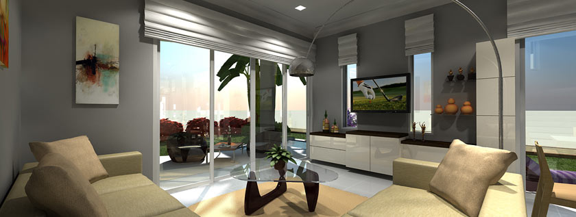 3D Interior Rendering Services, 3D Architecture Modeling