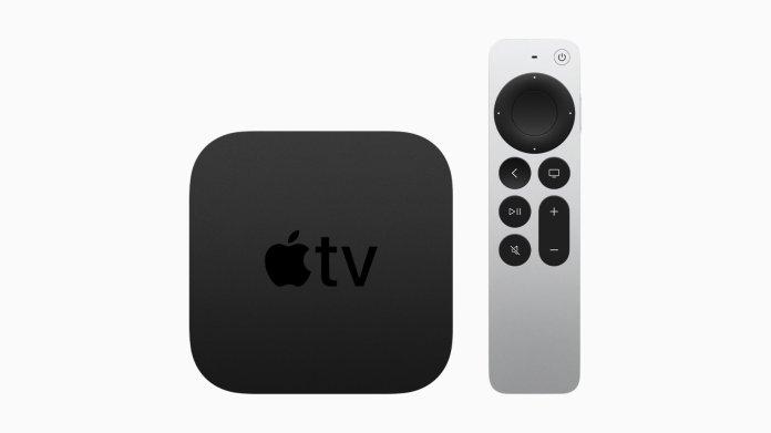 New Apple TV - Credit Apple