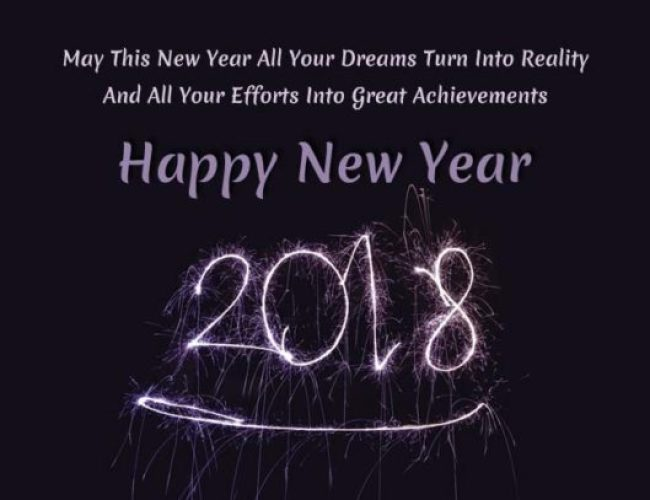 Happy New Year 2018: Images, Wishes, Messages For Family And Friends 5