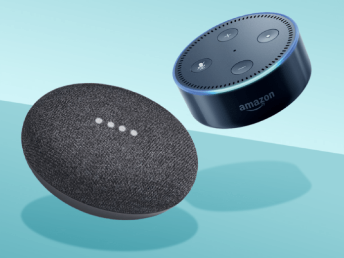 Amazon Echo Dot vs Google Home Mini 2