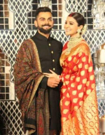Check out pictures from Anushka Sharma - Virat Kohli reception! 1