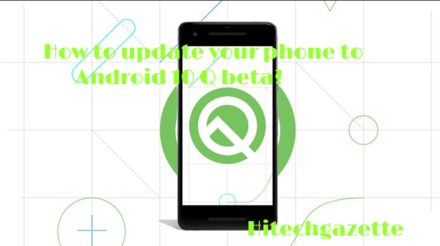 Supporting devices for Android 10 Q beta