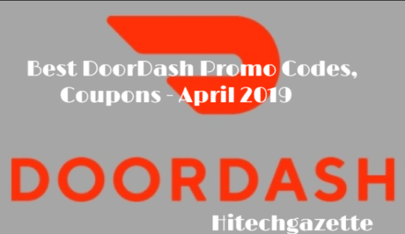 List of Doordash Promo Code APRIL 2019