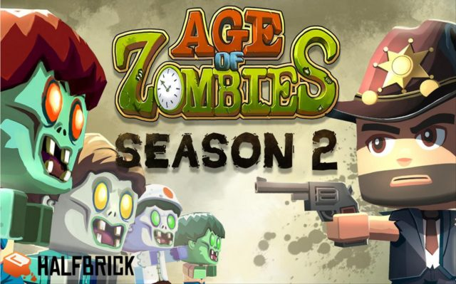 Age of zombies season 2: A game with Dinosaurs and zombies
