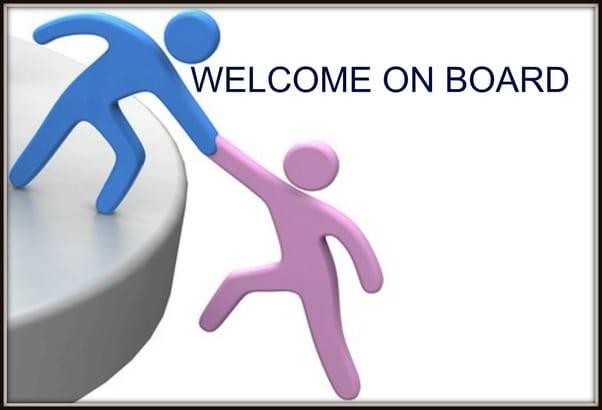 New employee onboarding