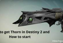 Thorn in Destiny 2