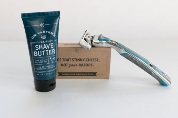 Image result for unboxing dollar shave club