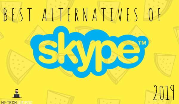 Best Alternatives of skype 2019