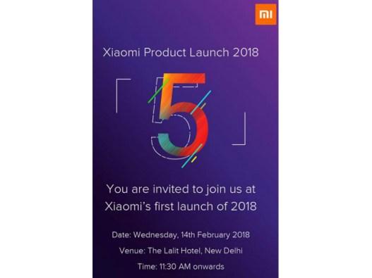 Redmi 5 Plus India Launch
