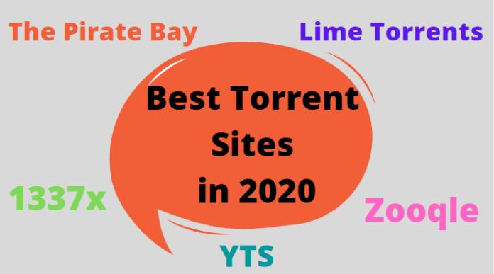Best Torrent sites in 2020