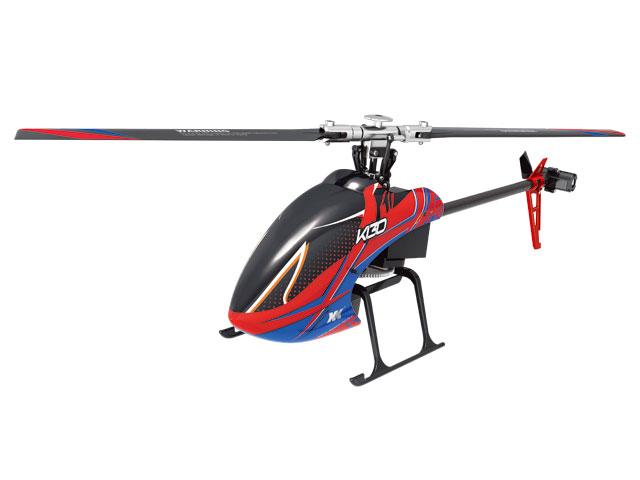 6CH ブラシレスモーター3D6Gシステムヘリコプター[ K130 ]