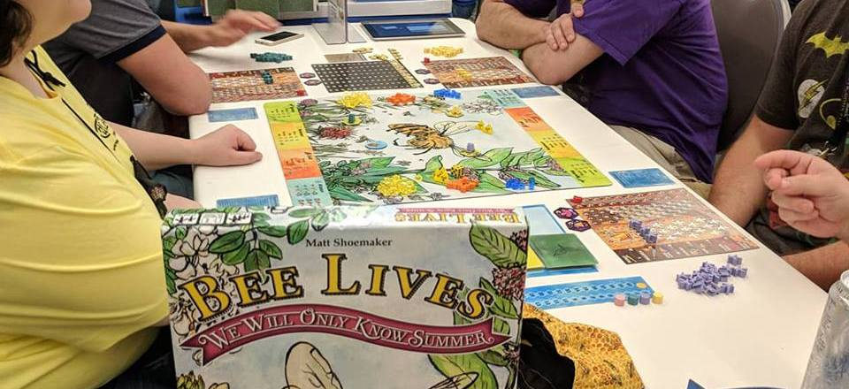 Origins Game Fair 2018: Bee Lives on the Road