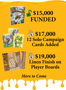 Image of the first 2 stretch goals