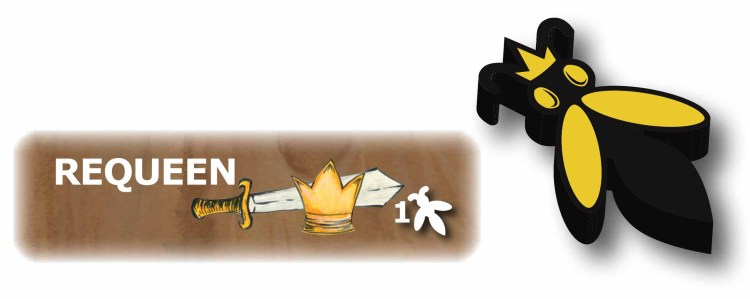The requeen action and the queen bee meeple