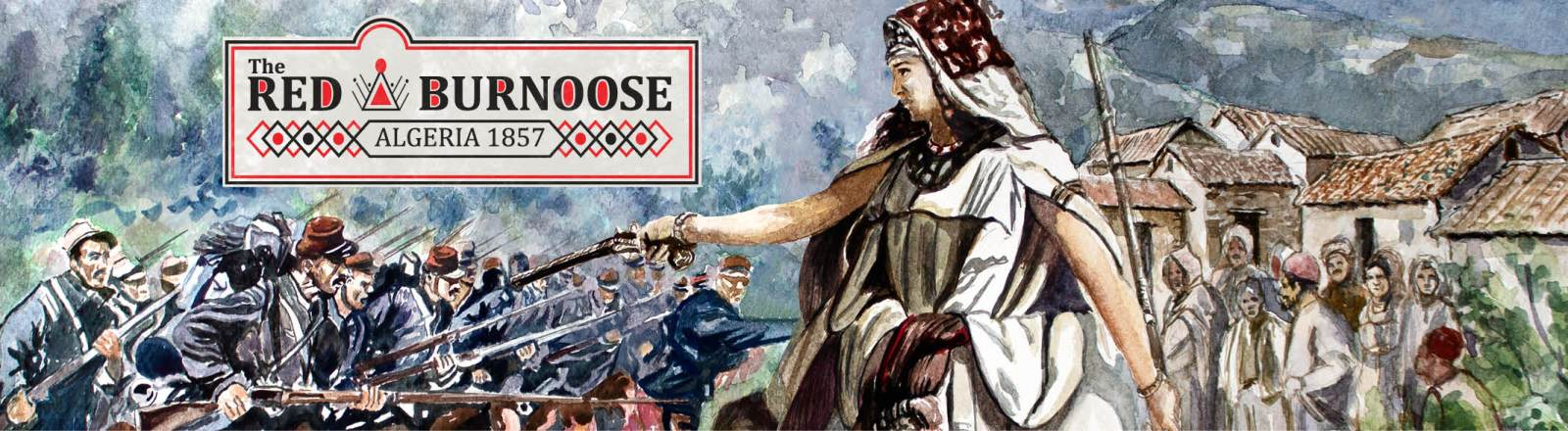 The Red Burnoose Comes to Kickstarter September 14th