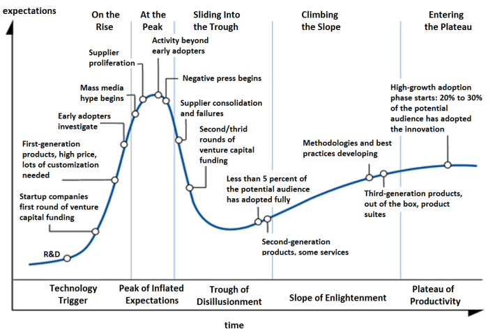 Gartner Technology Hype Cycle