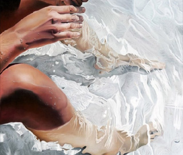 Cant Stop Looking At This Gorgeous Painting By The Spanish Painter Josep Moncada Juaneda Doesnt It Just Make You Want To Dangle Your Toes In The Water