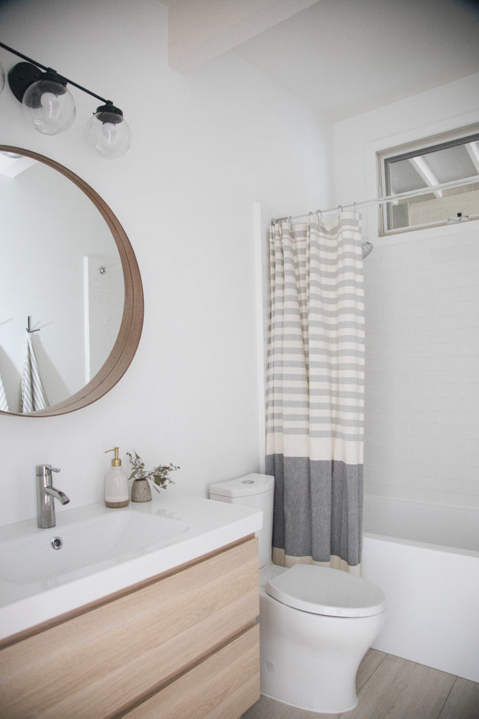 second bathroom update hither thither