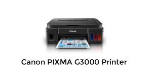 Canon PIXMA G3000 drivers