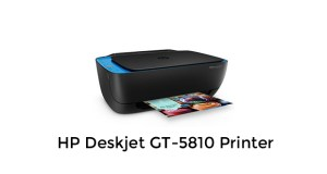 HP GT-5810 Printer