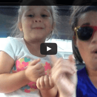 Mother-Daughter Lip-Sync Frozen