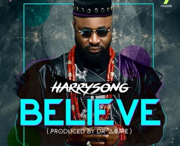 Harrysong – Believe Artwork