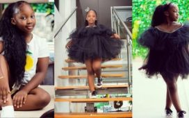 Timaya Celebrates First Daughter On Her Birthday As She Turns 7