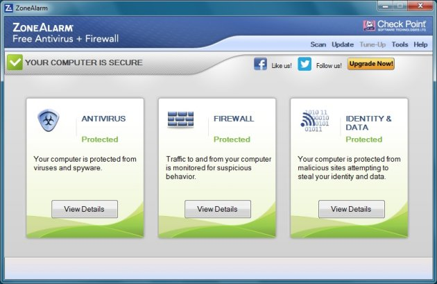 ZoneAlarm Antivirus Firewall