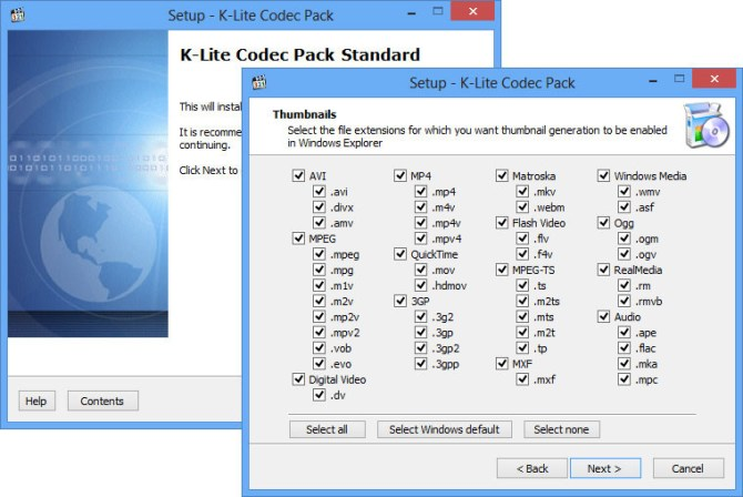 K Lite Codec Pack 2015 Mega Full Download Free