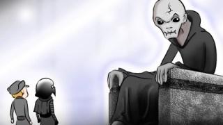 スノークに呼びだされたカイロレンとハックス将軍|スターウォーズ漫画亜種