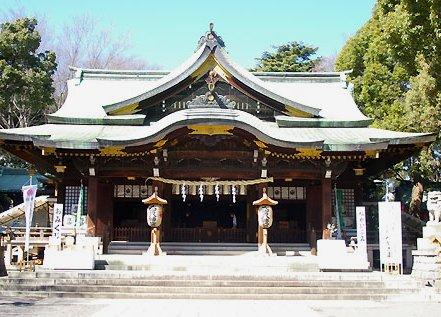神社のロケ地