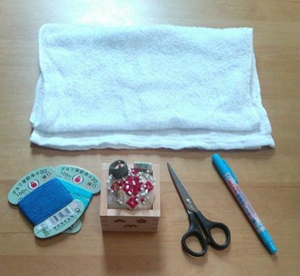 雑巾作りの材料