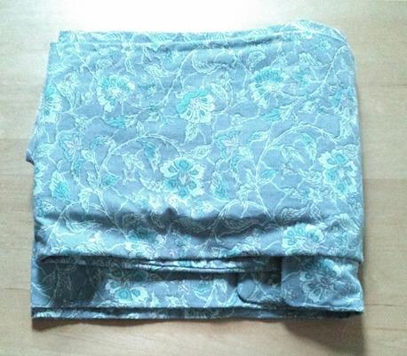 片貝木綿の着物を縫い終わりました